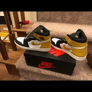 Jordan 1 retro high yellow ochre